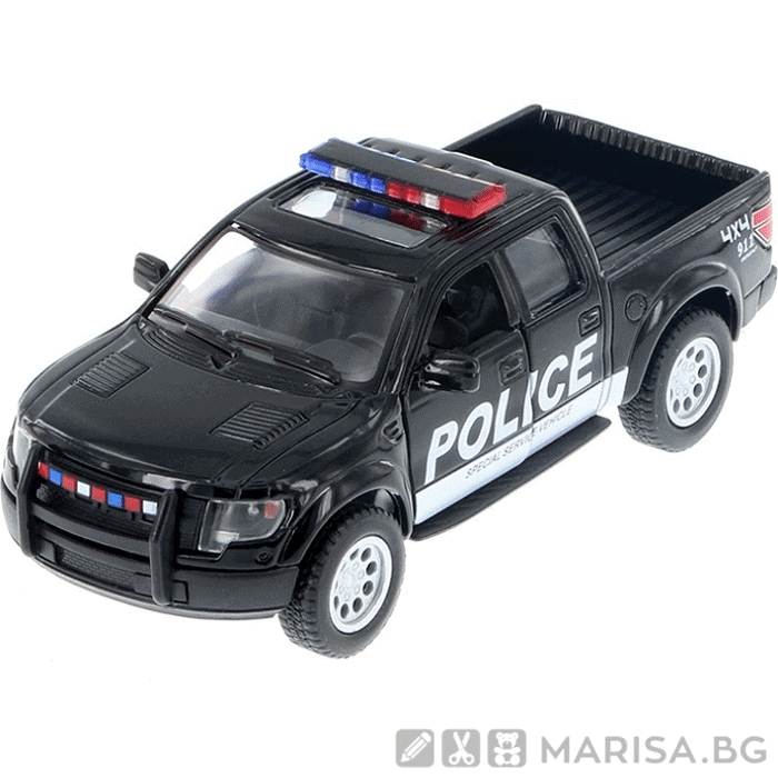 Метална количка Kinsmart Ford F-150 SVT Raptor SuperCrew